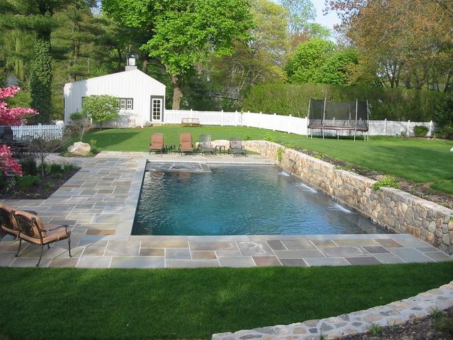 私家花园露台泳池 完美户外家居
