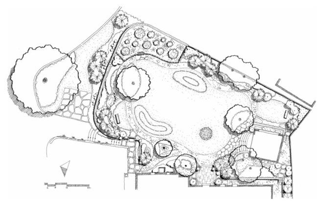 别墅花园设计 用心装点爱的花园