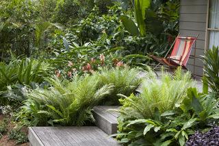 混搭设计 打造绿意盎然的秘密花园