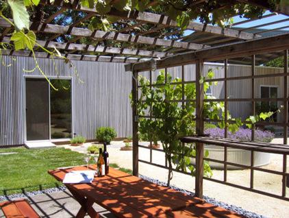 露台花园 舞台般的绿色庭院