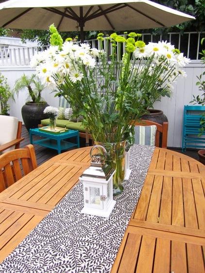来自地中海的小清新 露台巧妙变身绿意花园