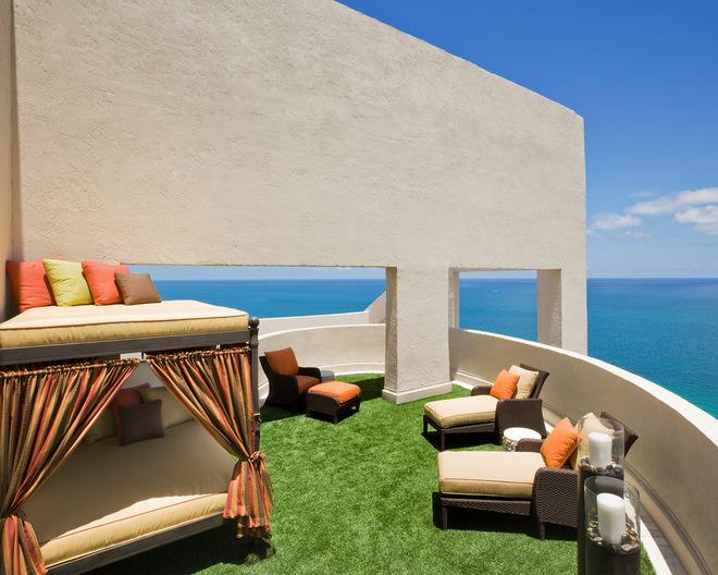 地中海风格露台花园 舞台般的梦幻庭院