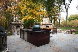 亮彩露台设计 亲近自然与美味的一隅