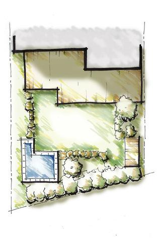 花园及庭院园艺装修设计图欣赏
