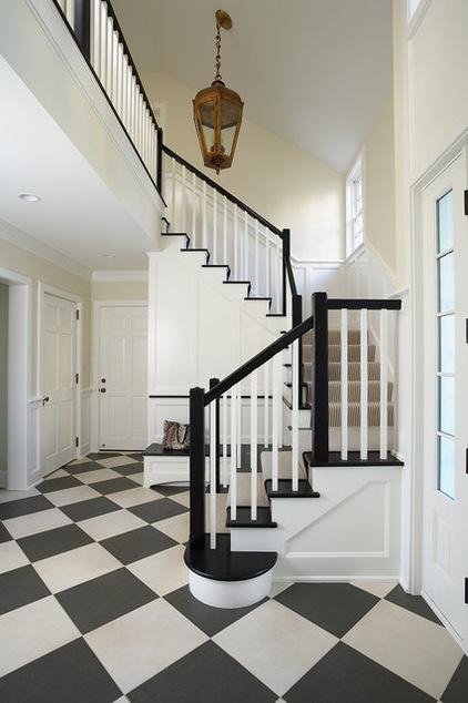 楼梯的巧妙转折设计 你的家适合哪种?