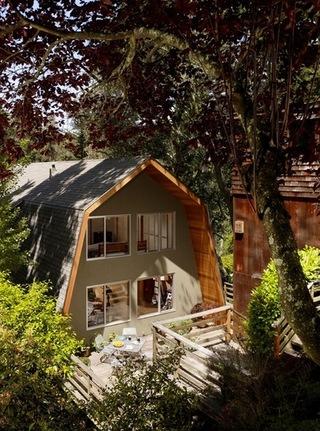 阳光下的舒适住宅 享受阳关的滋润