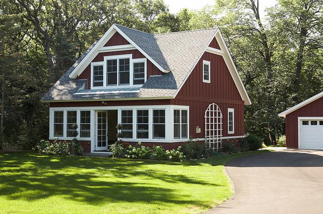装修细节:板材装修的小屋