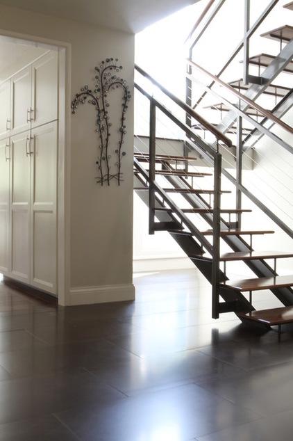 15款鐵藝樓梯欣賞 現代家庭精選
