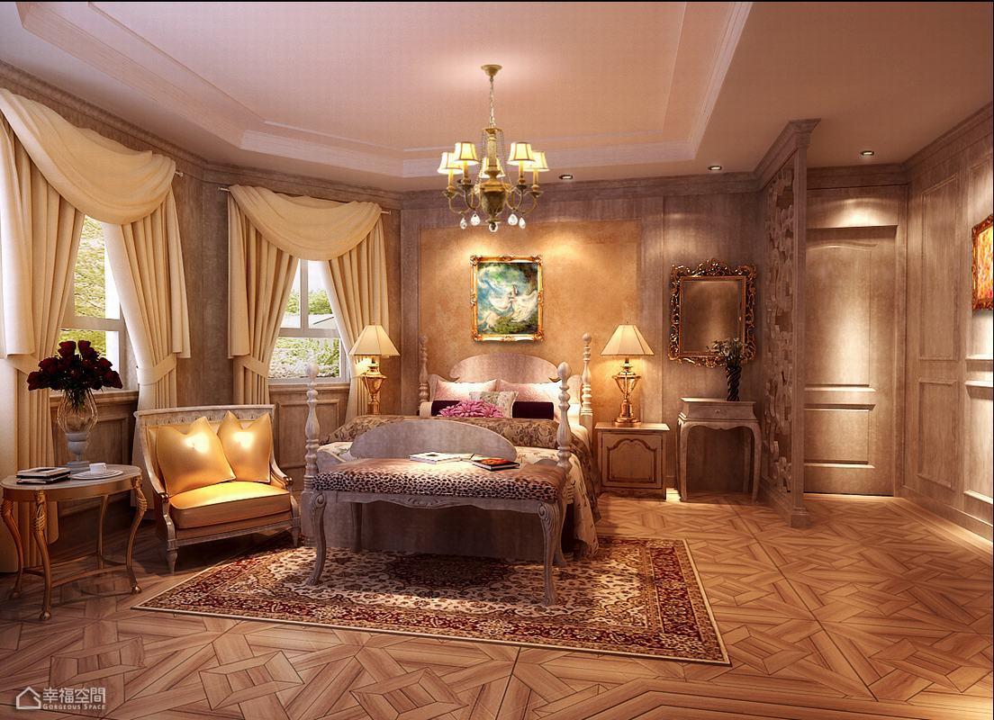 欧式风格别墅豪华效果图