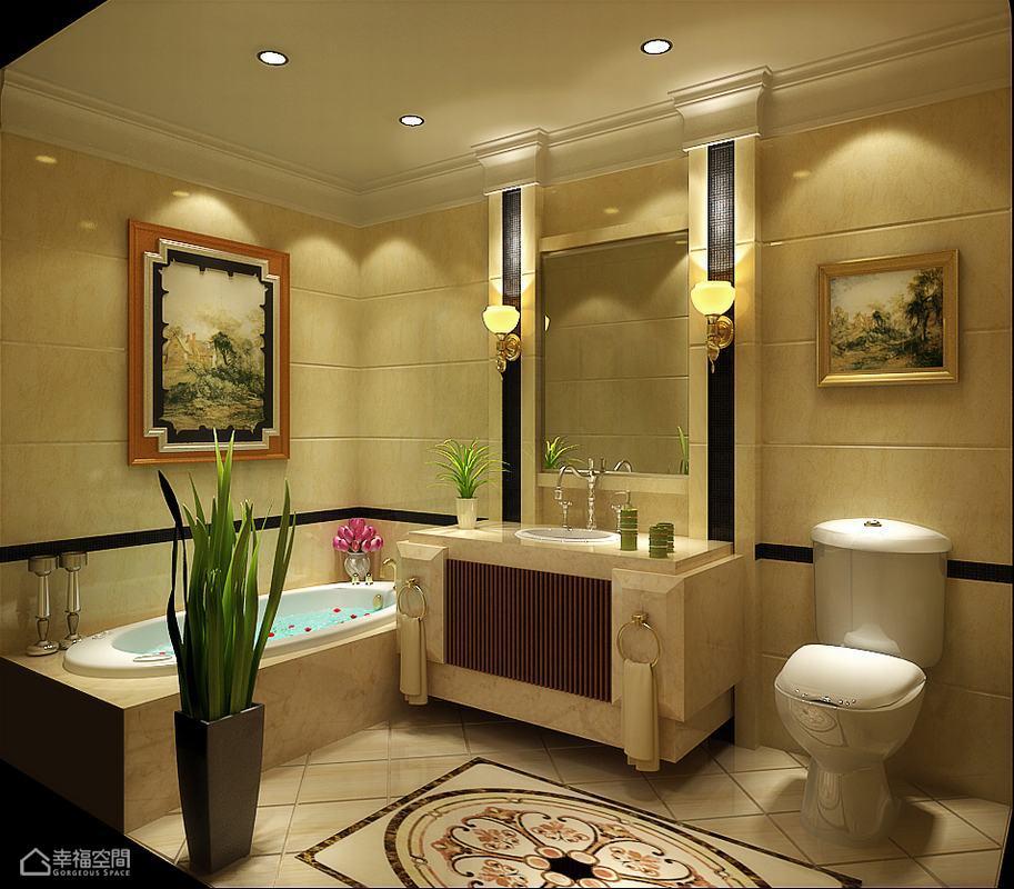 欧式风格别墅豪华设计图