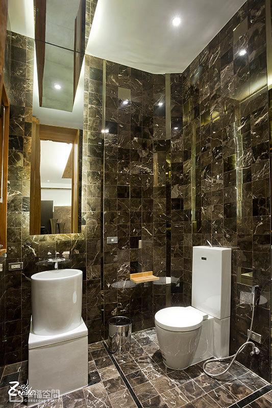 简约风格别墅小清新卫生间设计