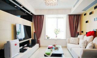 2012最新电视墙客厅效果图