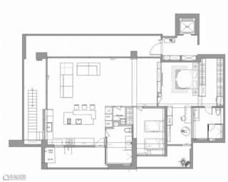 简约风格别墅小清新设计图