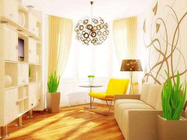 节省空间新方案 30图小户型客厅设计6/30