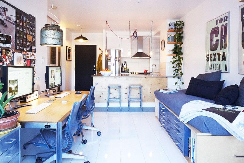 节省空间新方案 30图小户型客厅设计7/30