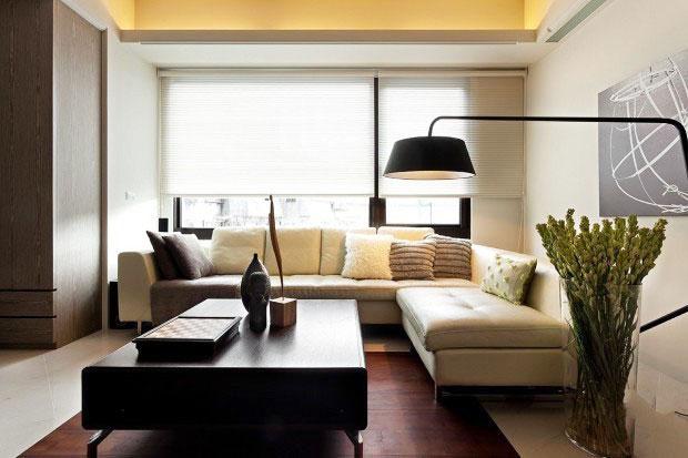 节省空间新方案 30图小户型客厅设计15/30