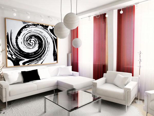 节省空间新方案 30图小户型客厅设计16/30