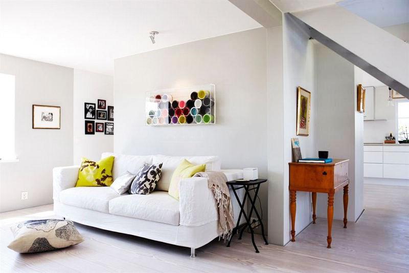 节省空间新方案 30图小户型客厅设计25/30