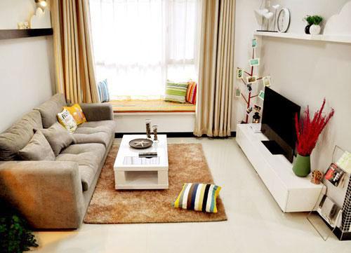 节省空间新方案 30图小户型客厅设计27/30