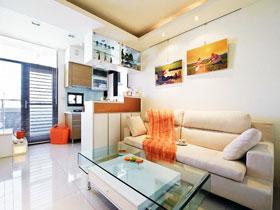 现代简约客厅隔断 23图轻松搞定区域划分