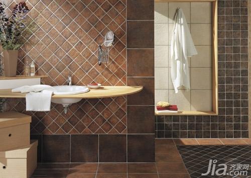 类房间通常采用浅色和冷色系的地砖.   地板砖颜色怎么选(一高清图片
