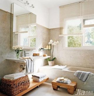 乡村风格是小浴室装修效果图