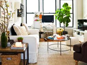 18图小户型宜家客厅 小空间大智慧