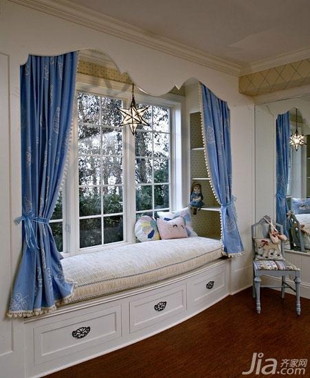 飘窗和橱柜也可以做成一个整体,很多时候我们在装修卧室的时候,衣柜图片