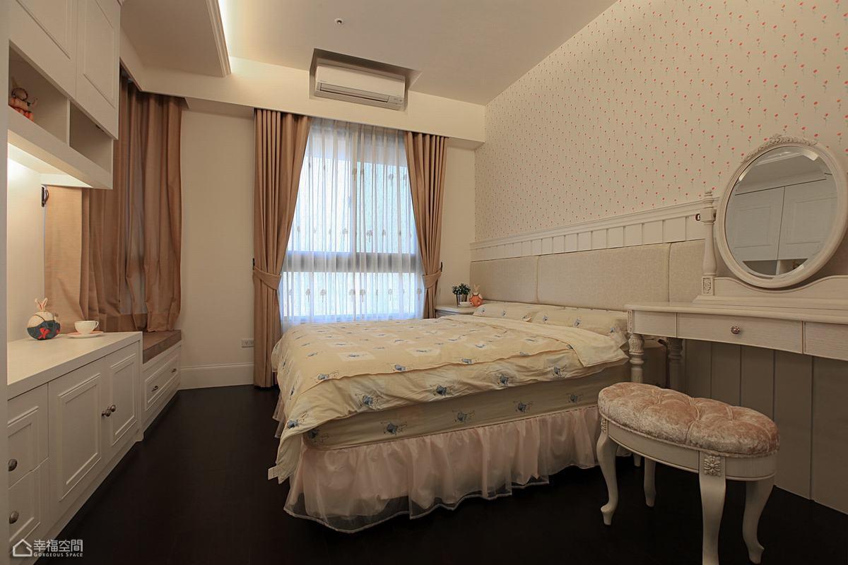 新古典风格公寓温馨装修效果图