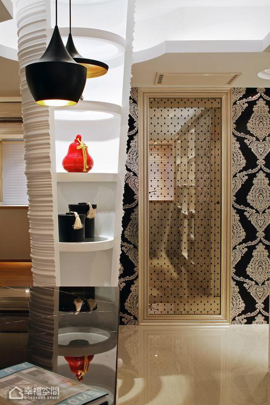 混搭风格公寓奢华装修效果图