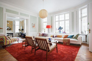 欧式风格简洁欧式客厅装修图片