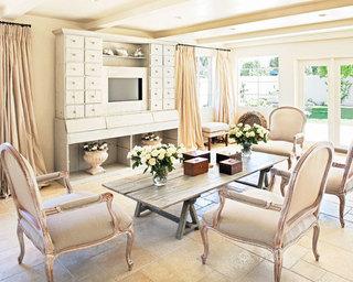欧式风格舒适欧式客厅装修图片