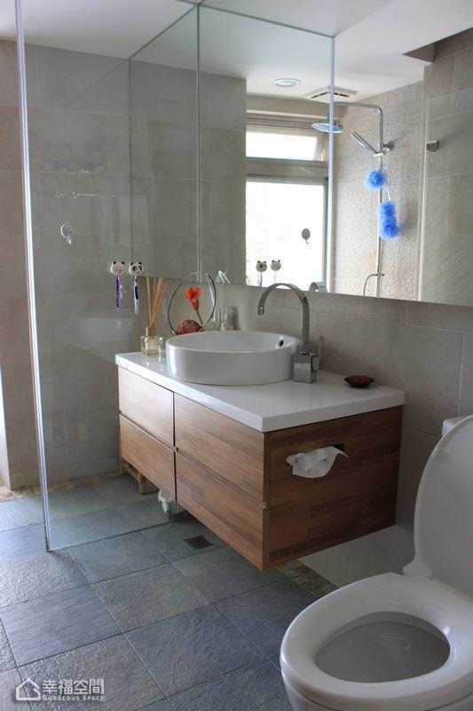 简约风格别墅舒适卫生间装修图片