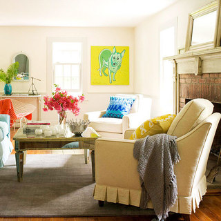 欧式风格简洁欧式客厅改造