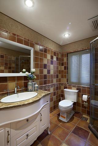 简约风格豪华140平米以上卫生间装修效果图