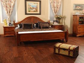 中式古典实木复合地板 榆木