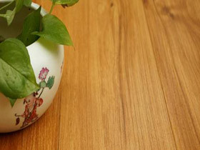 实木复合地板 浅柚木型耐磨地暖地板