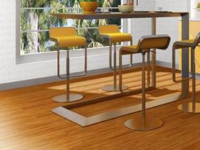 多层复合地板 黄檀色 零甲醛 地暖地板