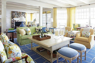 田园风格温馨客厅设计