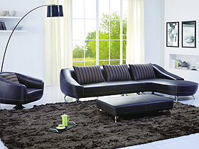 尊貴大氣的客廳需要這樣一張沙發