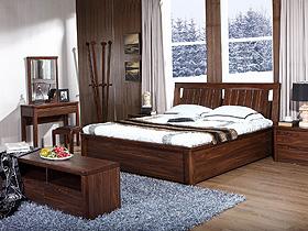 濃厚大氣的中式簡約臥室家具