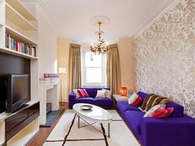 沙發墻的魅力 20款歐式沙發背景墻