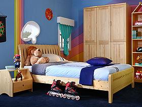 充滿童真的可愛臥室