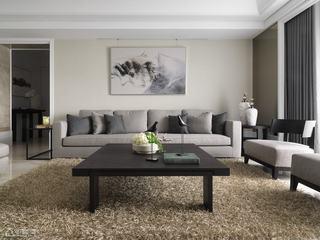 英伦风格公寓古典沙发背景墙装修效果图