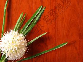 孪叶苏木实木地板 柚木色宽板地板