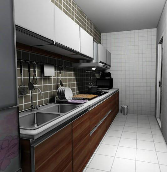 20款中式简约厨房 简洁与实用并举10/20