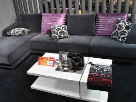 紫色配飾沙發7套圖