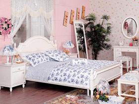 白色韩式公主床 给你梦幻般的浪漫