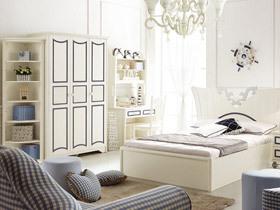 品味韩式浪漫 10图秀白色浪漫家具