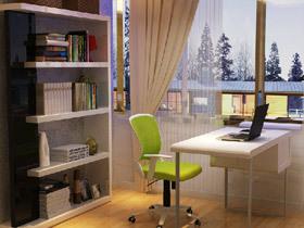 简约中的美 5个开放式小书房设计